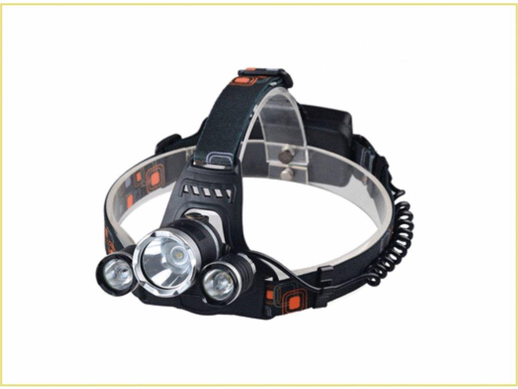 LED čelovka DK-HL04 30W 3000lm dobíjecí