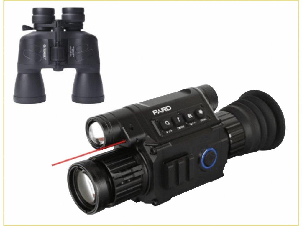 1xNV008 + dalekohled