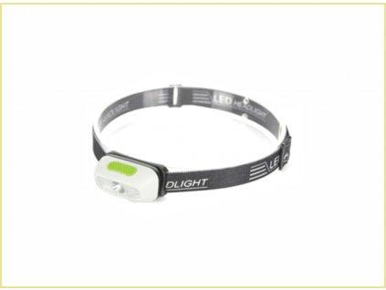 LED čelovka DK-HL07 5W 160 lm 3x AAA.